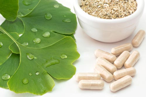 Herbal Supplements in Capsules
