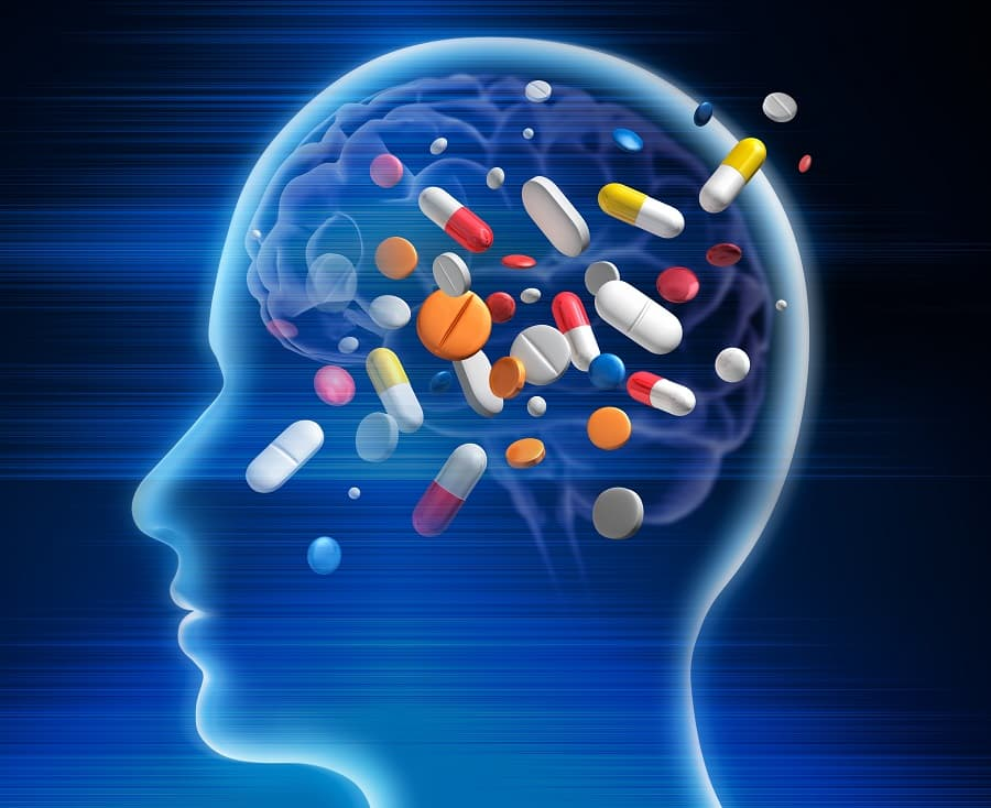 drugs affecting the brain